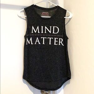 Mind Over Matter Workout Muscle Tee